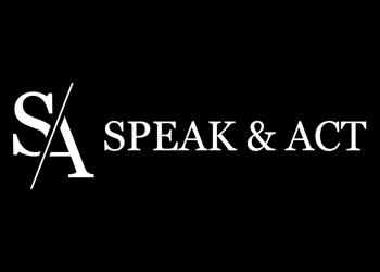 speak & act