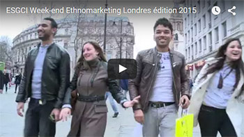 video Ethnomarketing Londres ESGCI